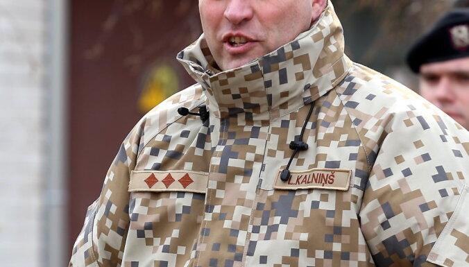 """Командир Земессардзе: если придут """"зеленые человечки"""", то их быстро выбьют"""