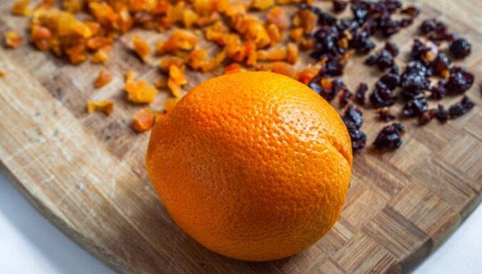Салат из апельсинов и чернослива