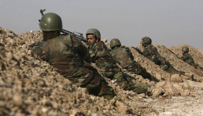 Uzbrukumā britu bāzei Afganistānā nogalināti 16 talibi un divi amerikāņu jūras kājnieki