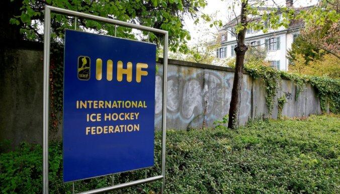 Latvijas Hokeja federācija tikusies ar IIHF pārstāvjiem; lēmums gaidāms tuvākajā laikā