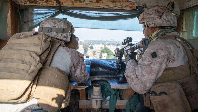 ASV turpinās samazināt karavīru skaitu Irākā
