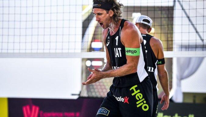 Samoilovs/Šmēdiņš četru zvaigžņu turnīrā Kankunā izcīna uzvaru grupā