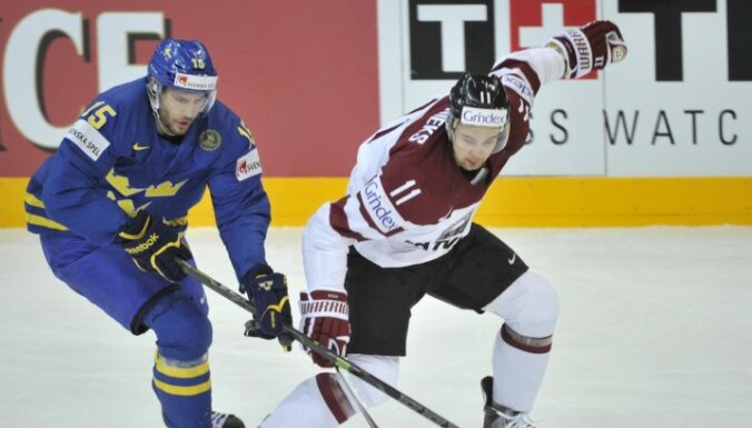 Zviedrijas izlases treneris: spēlē pret Latviju ātri centīsimies pārņemt kontroli