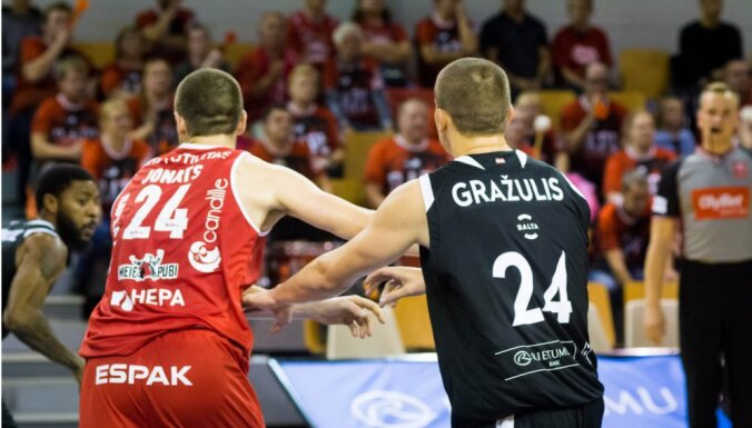 'OlyBet' līgas izslēgšanas turnīru ieskandina 'VEF Rīga' un 'Avis Utilitas' duelis
