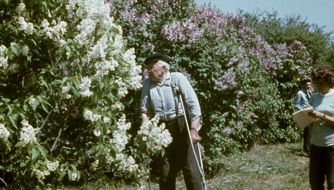 Ceriņu selekcionāram un dārzkopim Pēterim Upītim – 125
