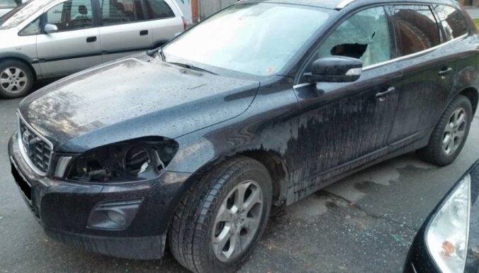 Auto apzagšanas gadījumu skaits šogad divkāršojies; biežākie upuri – 'Volvo' un 'Škoda'
