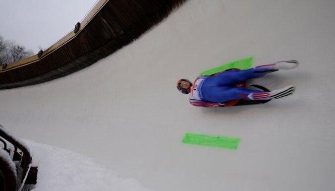 Zozuļa uz Kazahstānu pārvilinājusi Latvijas kamaniņu sportistus