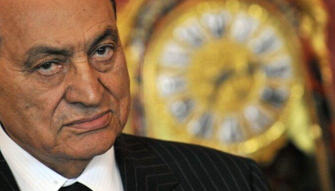 Ēģiptes valdība neapžēlos eksprezidentu Mubaraku