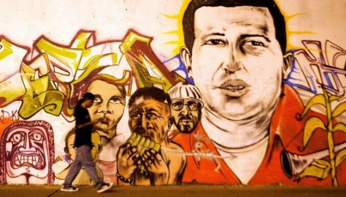 Čavesa nāve: kārtību valstī nodrošina armija un policija