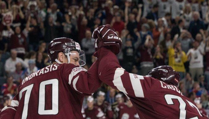 Опрос: треть жителей Латвии будет следить за матчами чемпионата мира по хоккею