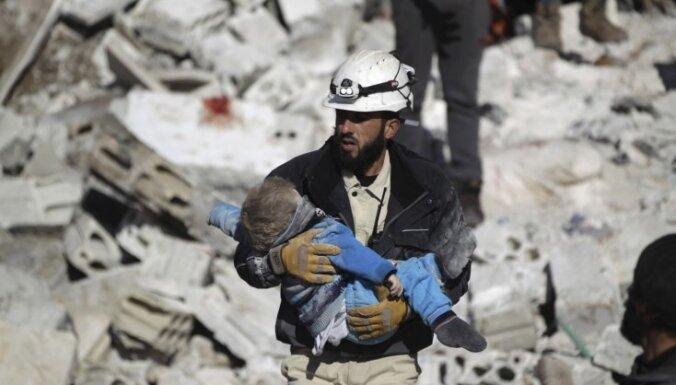 ANO: Sīrijā pagājušajā gadā bojā gājis rekorliels bērnu skaits