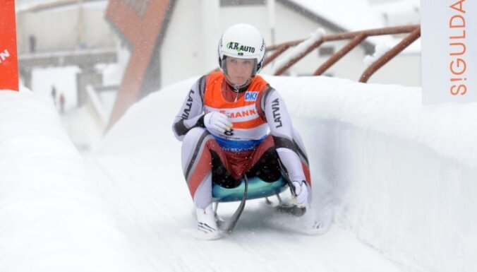Elīza Tīruma izcīna 8.vietu PK posmā kamaniņu sportā