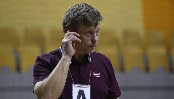 Latvijas handbola izlases treneri uztrauc vairāku spēlētāju atgriešanās Latvijas klubos
