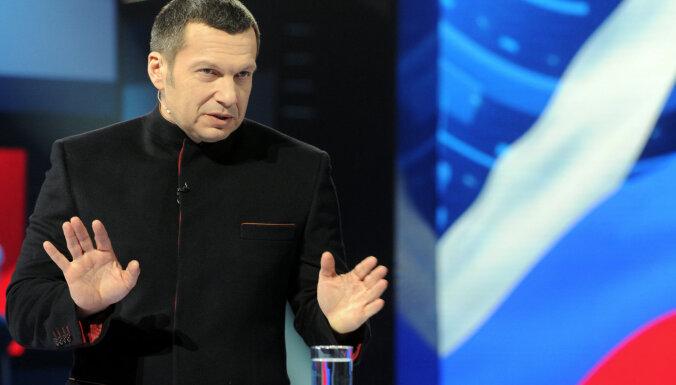 Krievijā policija izmeklē Hitlera slavinātāja Solovjova komentārus