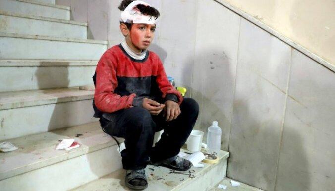 Sīrijas pilsoņkarā nogalināti jau vismaz 19 811 bērni