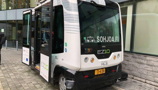 На улицах Елгавы и Айзкраукле появятся беспилотные автобусы