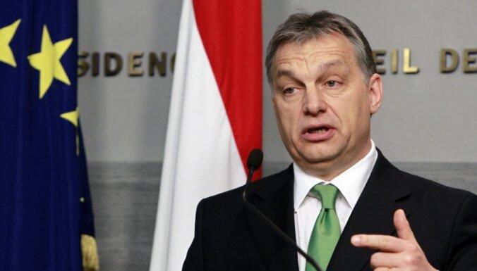 Orbans atkārtoti pieprasa Ukrainas ungāru autonomiju