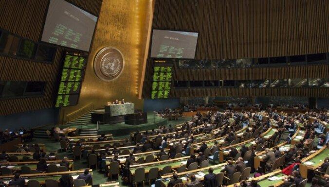 Latvija pirmo reizi ievēlēta ANO Cilvēktiesību padomē