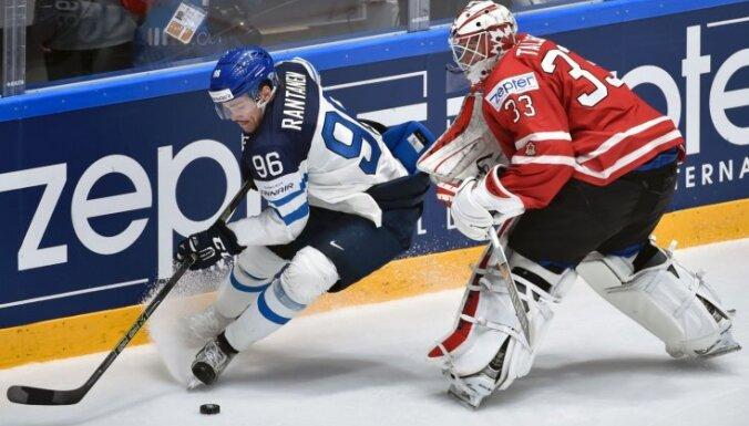Somijas hokeja izlasei pievienojas trīs NHL vīri; Komarovs nesteigs palīgā