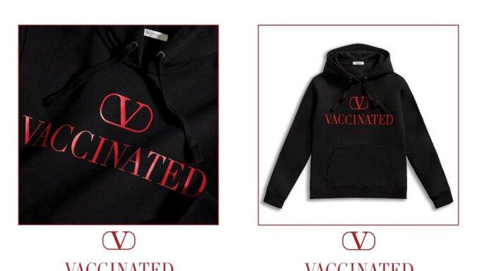 Антипрививочники затравили бренд Valentino за продвижение вакцинации