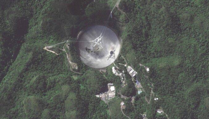 Remonts apdraud dzīvības. Milzīgais Aresibo radioteleskops diemžēl būs jānojauc