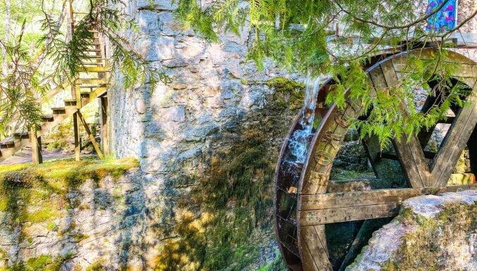 ФОТО. Природная тропа мельницы Иерики в сказочном обличье (всего 72 км от Риги)
