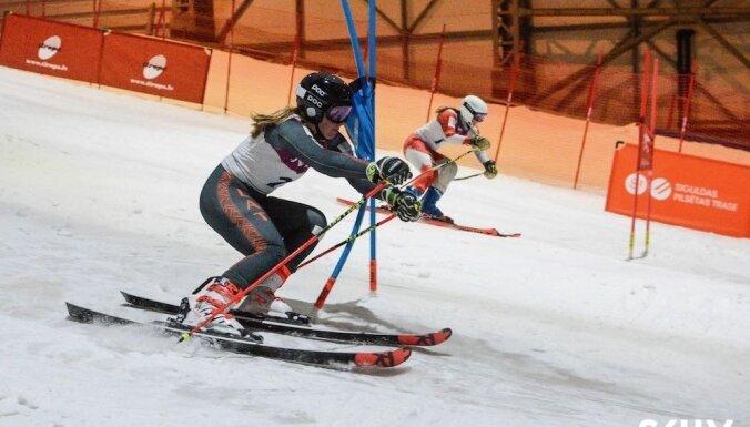 Druskininkos sākusies Baltijas kausa sezona kalnu slēpošanā