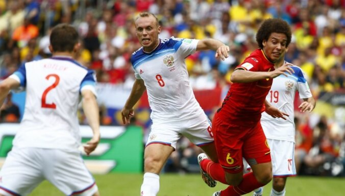 Бельгийцы обыграли россиян и досрочно вышли в 1/8 финала