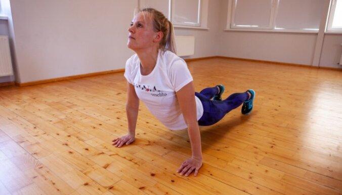 Пять упражнений, которые помогут избавиться от лишних килограммов