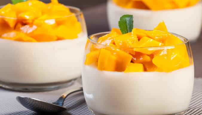 Mango - jogurta želeja