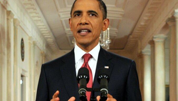 Obama un republikāņi vaino viens otru nepiekāpībā valsts parāda jautājumā