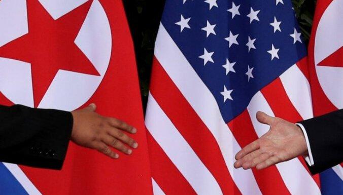 Otrā tikšanās ar Kimu Čenunu varētu notikt nākamā gada sākumā, paziņo Tramps