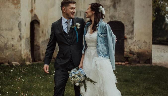 Foto: Apprecējusies bijusī 'Bez Tabu' žurnāliste Baiba Runce