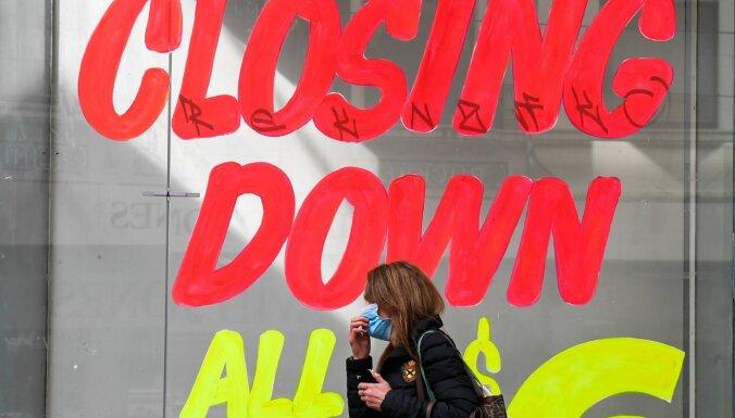Covid-19: Melburnā tiks slēgti veikali, krogi un viesnīcas
