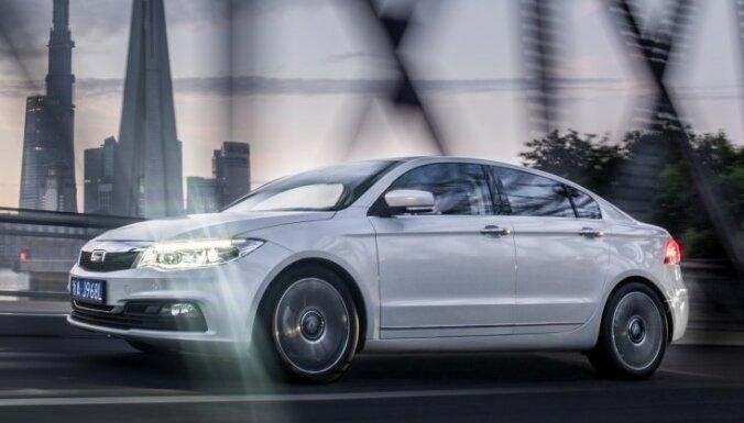 Eiropā pārdots pirmais ķīniešu un izraēliešu kopražotais auto
