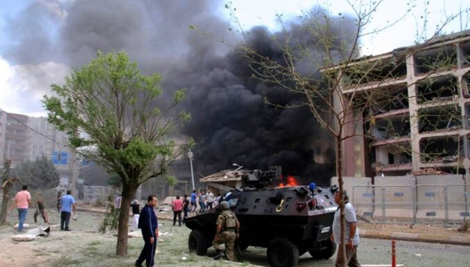 Kurdu separātisti uzņemas atbildību par sprādzienu Turcijas dienvidaustrumos