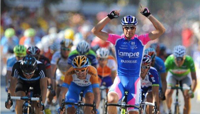Slavenais itāļu riteņbraucējs Petaki saņēmis divu gadu diskvalifikāciju