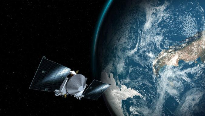 Zonde 'OSIRIS-REx' sasniedz asteroīdu Bennu