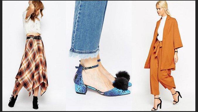 ФОТО: Осенняя мода — бахрома, мех на карманах, накидки и пончо