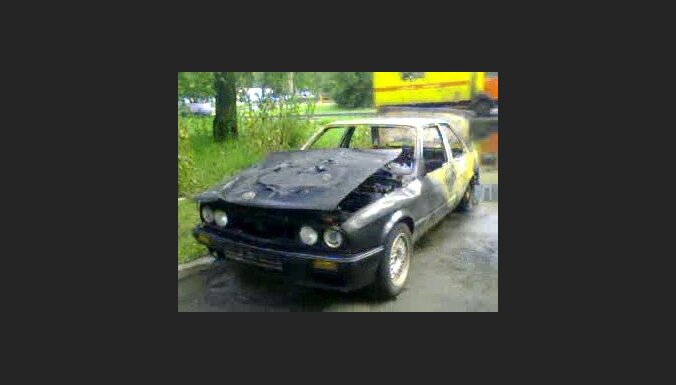 Сожженное авто - ненавистники BMW перешли от слов к делу?