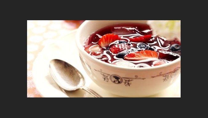 Летний сладкий суп (Summer gazpacho)