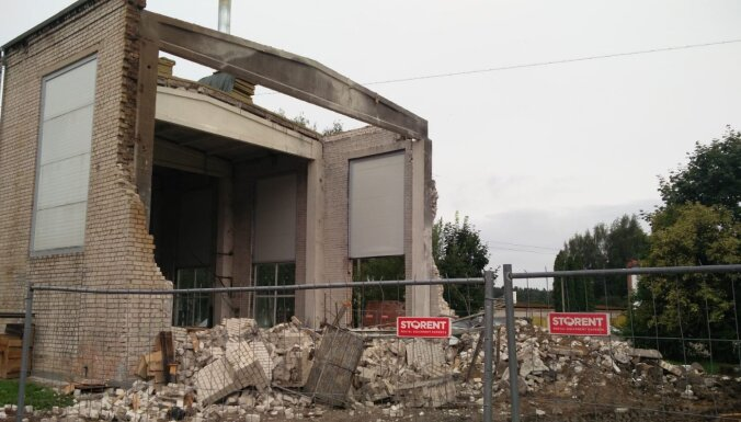 Из-за прорыва газовой трубы в Иецаве эвакуировали жильцов окрестных домов