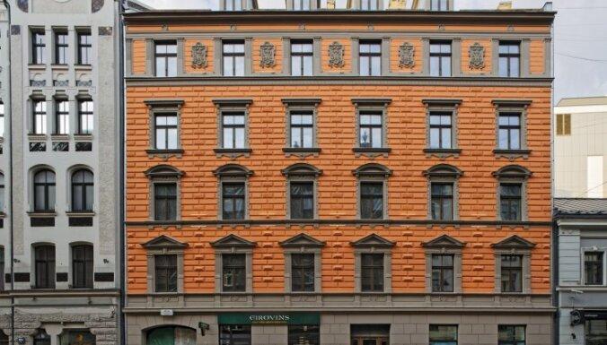 Foto: Košais nams Rīgas centrā, kas nosaukts par godu Rūdolfam Blaumanim