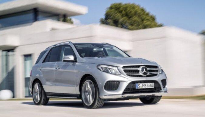 'Mercedes-Benz GLE' – tā turpmāk sauks 'BMW X5' konkurentu