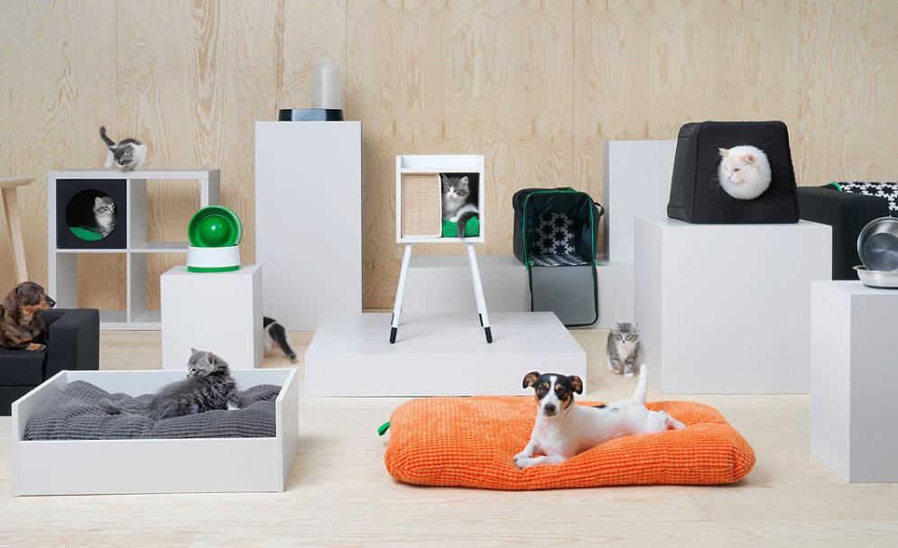 В Риге в августе 2018? IKEA выпустила коллекцию мебели для кошек и собак (ФОТО)