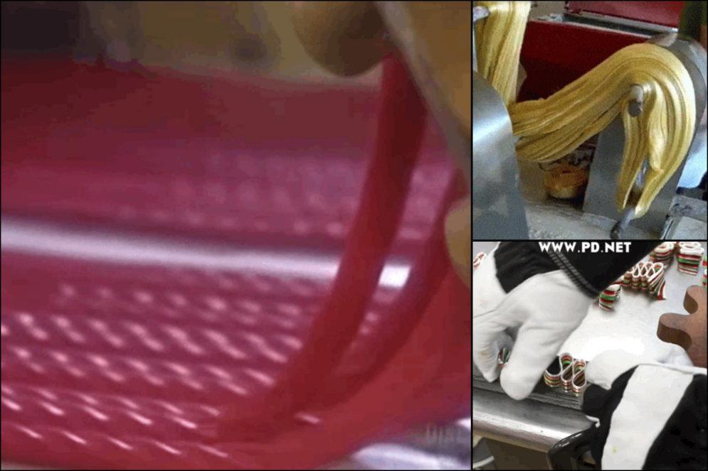 ВИДЕО: 19 гипно-гифок, на которых показано, как делают разные сладости