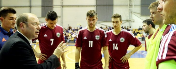 Paziņots Latvijas telpu futbola izlases spēlētāju saraksts Baltijas kausa spēlēm Jelgavā