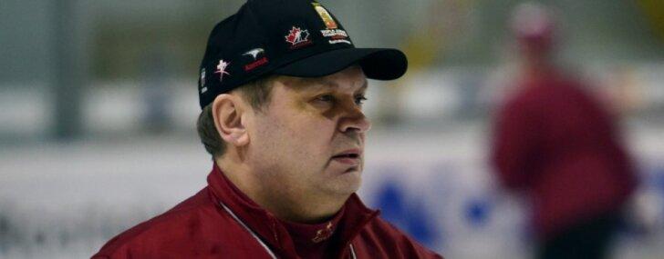Latvijas hokeja izlasi olimpiskajai kvalifikācijai tomēr gatavos Beresņevs
