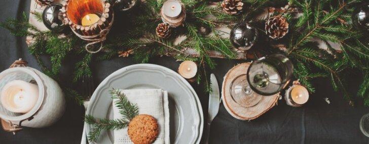 Lai vietas pietiek arī ēdienam – idejas galda noformējumam ar nelieliem dekoriem
