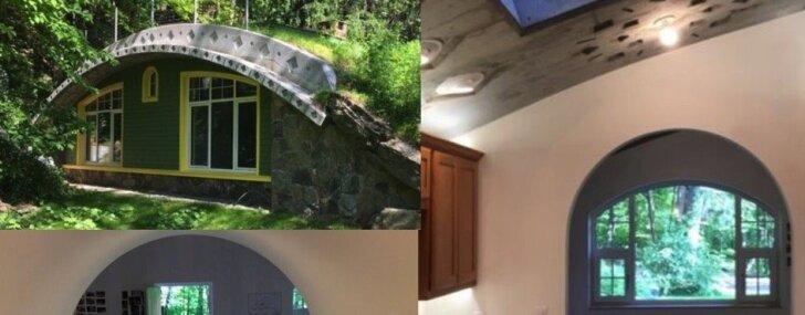 Foto: Kvēls 'Gredzenu pavēlnieka' fans izveido mājiņu kā hobitiem